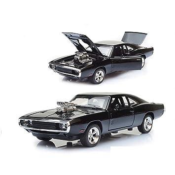 HURONG168 Coches Vehículos Juguetes Velocidad y Pasión 7 Dodge Challenger | Lycan Sports Car Muscle Car