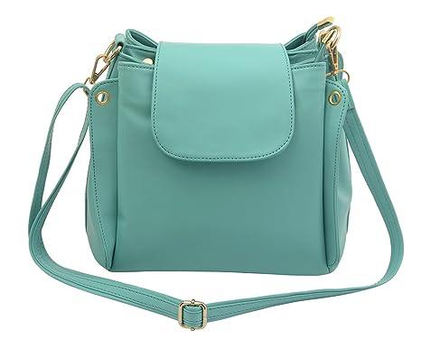 Lychee Bags Girl's Green PU Lara Sling Bag (LB73G, Dimension ...