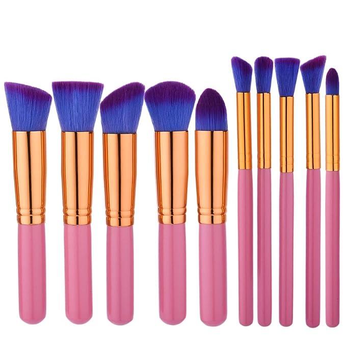 Profesional Set de Brochas de Maquillaje Cepillos de ...