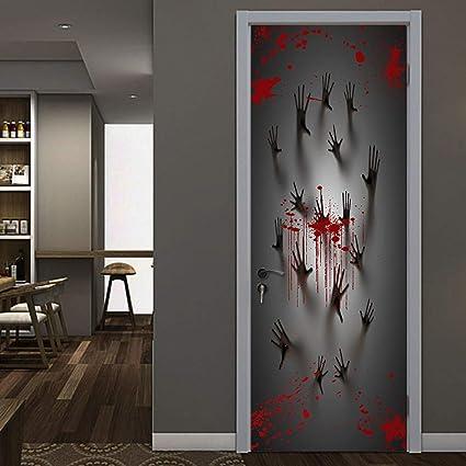 Amazon.com Yalasga Halloween Decorations Scary Haunted