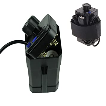 Amazon.com: MinChen - Batería recargable de seguridad para ...