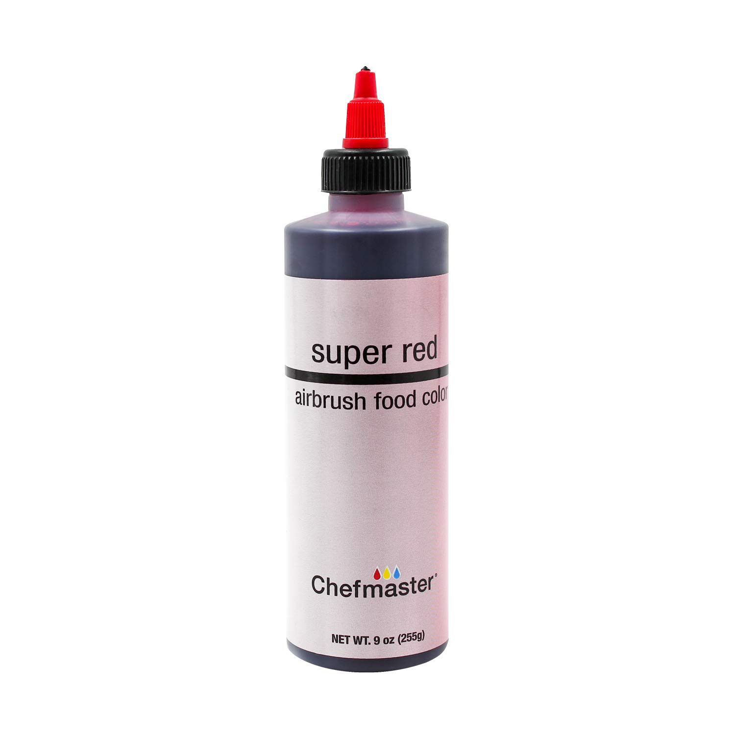 U.S. Cake Supply 9-Ounce Airbrush Cake Food Color Super Red