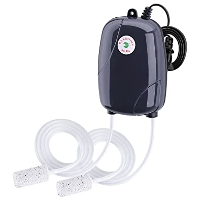 VicTsing Aquarium and Fish Tank Oxygen Air Pump