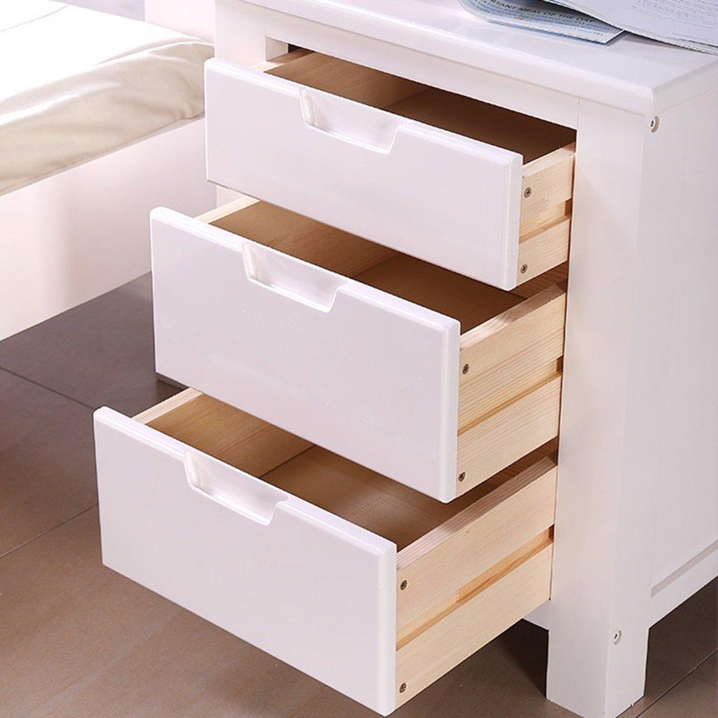 Amazon.com: GJM Shop - Armario moderno de madera maciza para ...