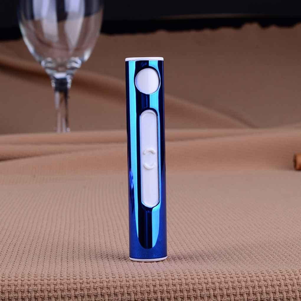 fgyhtyjuu Mini Sigaretta Elettrica Accendino elettronico di Ricarica USB per accendisigari Elettrico Portatile Accendino Accendino