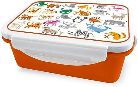 Alphabet i-Drink ID2009 Lunch Box Porta Alimentos Infantiles Herm/ético Kids