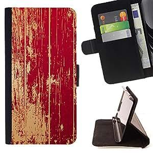 - Rustic Distressed Barn Door - Estilo PU billetera de cuero del soporte del tir???¡¯????n [solapa de cierre] Cubierta- For Samsung Galaxy Note 3 III £š Devil Case £©
