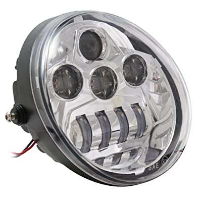 ATOPLITE V ROD LED Headlight For VRSCA V-Rod: Automotive