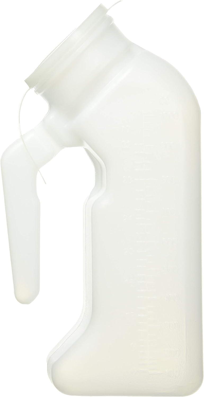 Leakproof avec Couvercle D/éodorant Convient aux Enfants /à mobilit/é r/éduite la capacit/é des Hommes est 2000ml Multifonctions Urinoir Urinal MAZHONGWU Portable Urinoir