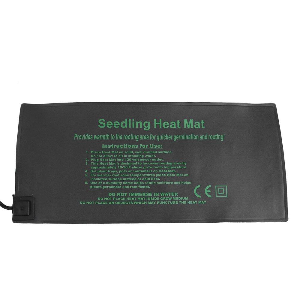 Belovedkai Seedling Heat Mat, Waterproof Warm Cutting Rooting Germination Heating Pad for Home Gardening Seed