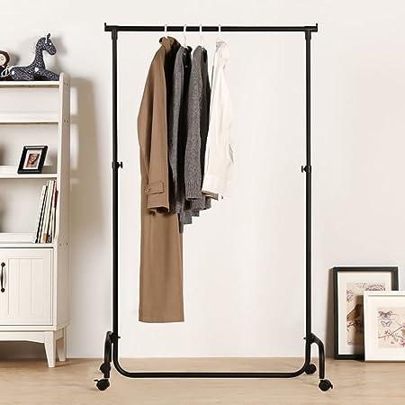LWF Coat Rack Stand Iron Art Mobile Coat Rack Landing Hangers Amazing Standard Height For Coat Rack