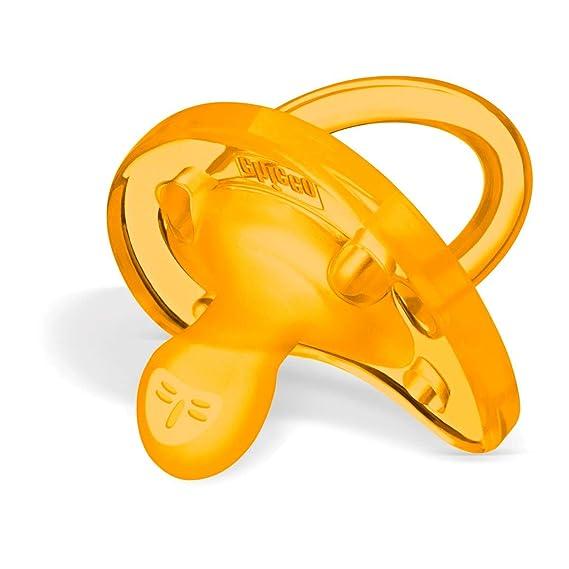 Chicco Phisio Soft - Chupete todogoma de látex para 0-6 meses caucho