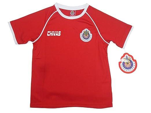 new concept 81dbc eec78 Amazon.com: Chivas del Guadalajara Youth Jersey Official ...