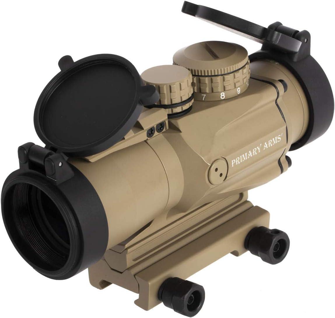 Primary Arms SLxP3 Compact 3×32 Gen II Prism Scope – ACSS-5.56-CQB-M2 – FDE