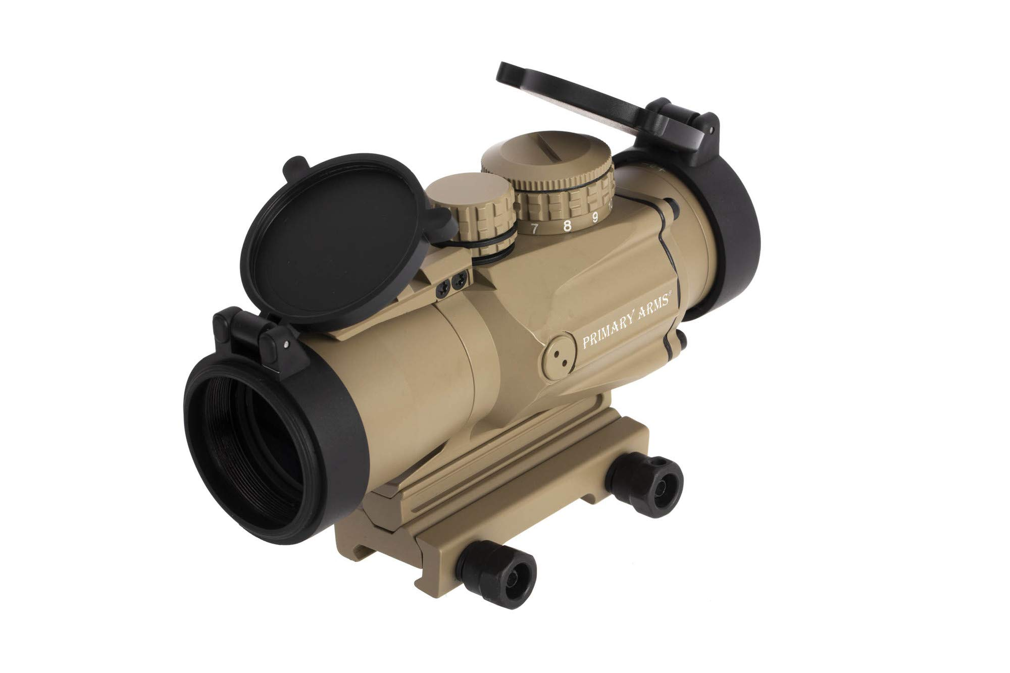 Primary Arms SLxP3 Compact 3x32 Gen II Prism Scope - ACSS-5.56-CQB-M2 - FDE by Primary Arms