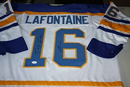 0a25d996e Image Unavailable. Image not available for. Color  Buffalo Sabres Pat  Lafontaine ...