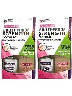 Nutra Nail Bullet-Proof Strengthening Formula 0.5 Oz (Pack ...