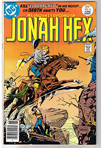 JONAH HEX #2, VF/NM, Scar face, Western, Parrot ,1977, more JH in store ()
