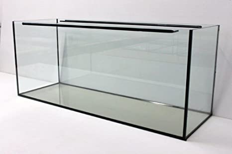 FavoPet Acuario Cristal Platillos 100 x 50 x 50 cm, Rectángulo, 250 L Platillos