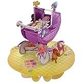 Santoro - 3D-Pirouette-Carte de vœux bébé dans une poussette