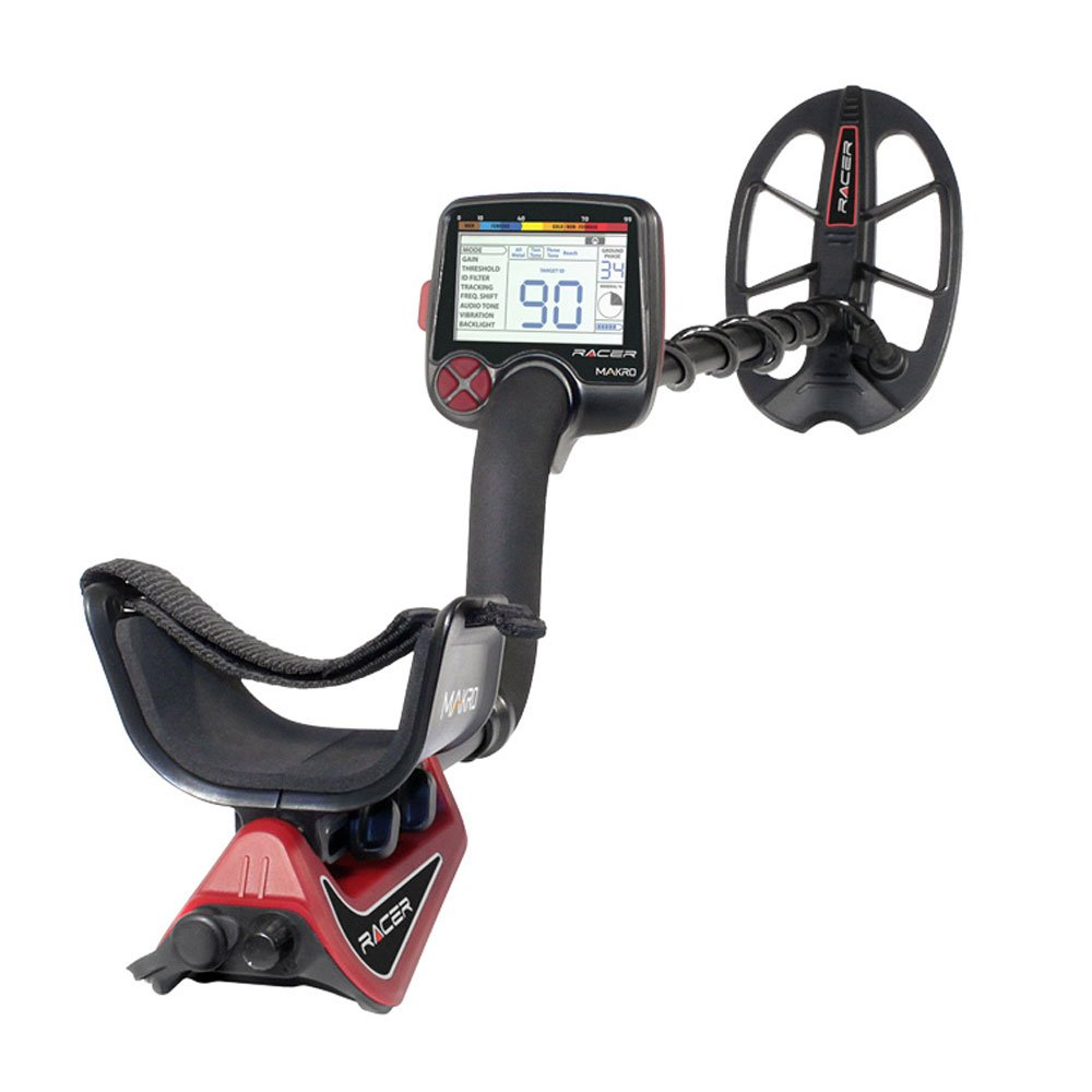 Amazon.com : Makro 1448-RACERS Racer Standard Package Metal Detector, Black/Red : Garden & Outdoor