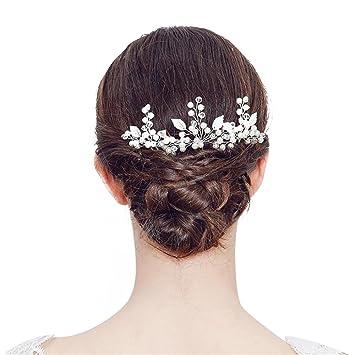 Brautschmuck Haarnadeln Haar Clips, Skitic 2 Stück Blumen Blüte ...