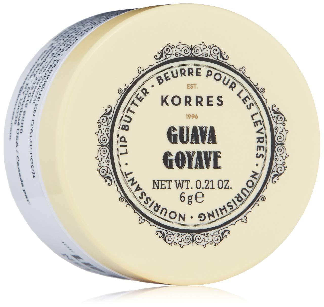 KORRES Guava Lip Butter, 0.21 Fl. Oz by KORRES