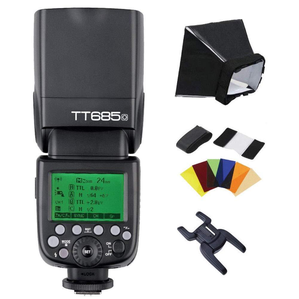 Godox TT685O TTL Flash Camera Flash Speedlite 2.4G HSS 1//8000s TTL GN60 Electronic Flash for Olympus E-M10II E-M5II E-M1 E-PL8 E-PL6 E-PL6 E-PL5 E-P5 E-P3 Pen-F for Panasonic GH4 G7