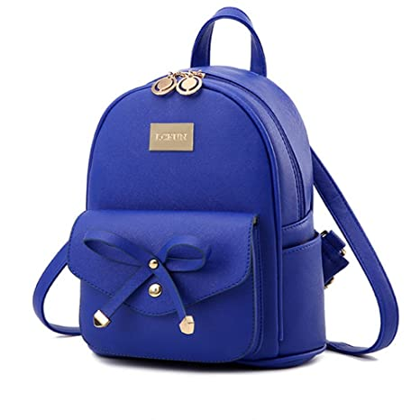 d1476f21d Amazon.com: Cute Mini Leather Backpack Fashion Small Daypacks Purse for  Girls and Women: Siderui Inc