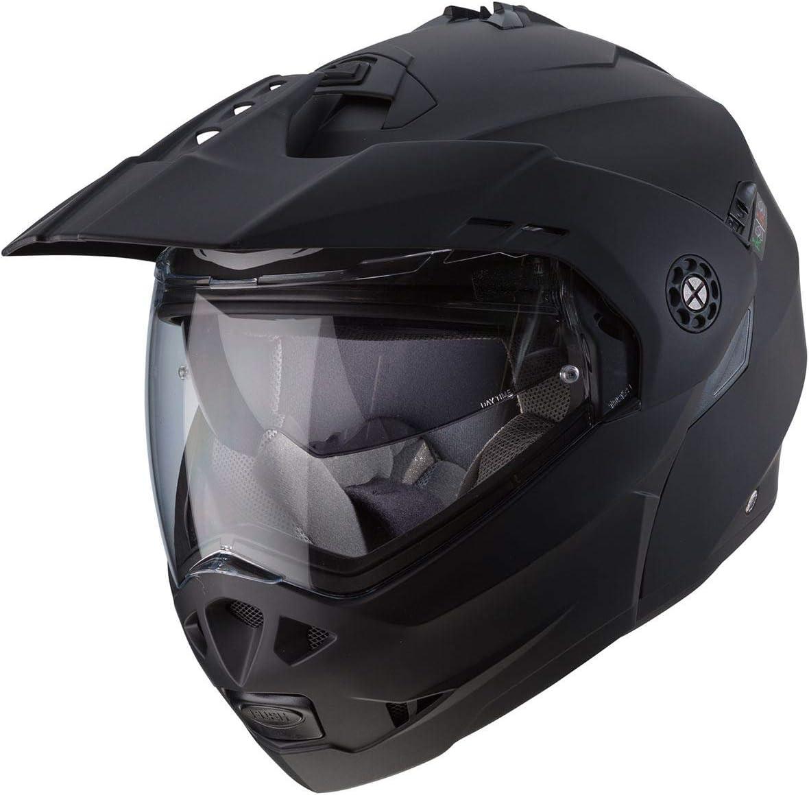 color negro mate Caberg Casco Tourmax talla L