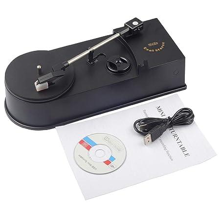 Tree-on-Life Multifuncional USB Mini Tocadiscos Tocadiscos ...