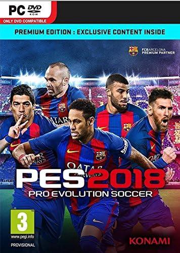 Pro Evolution Soccer 2018 - Premium Edition (PC) (New): Amazon.es ...
