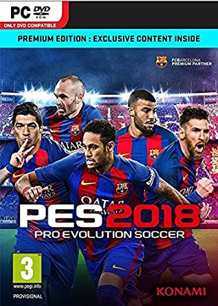 Pro Evolution Soccer 2018 - Premium Edition (PC DVD): Amazon co uk