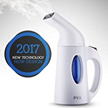 Pax Handheld Garment Steamer For Clothes, Travel and Home