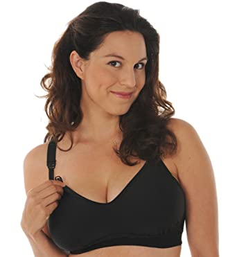 Melinda G Tee-Shirt Soft-Cup Nursing Bra at Amazon Women's ...