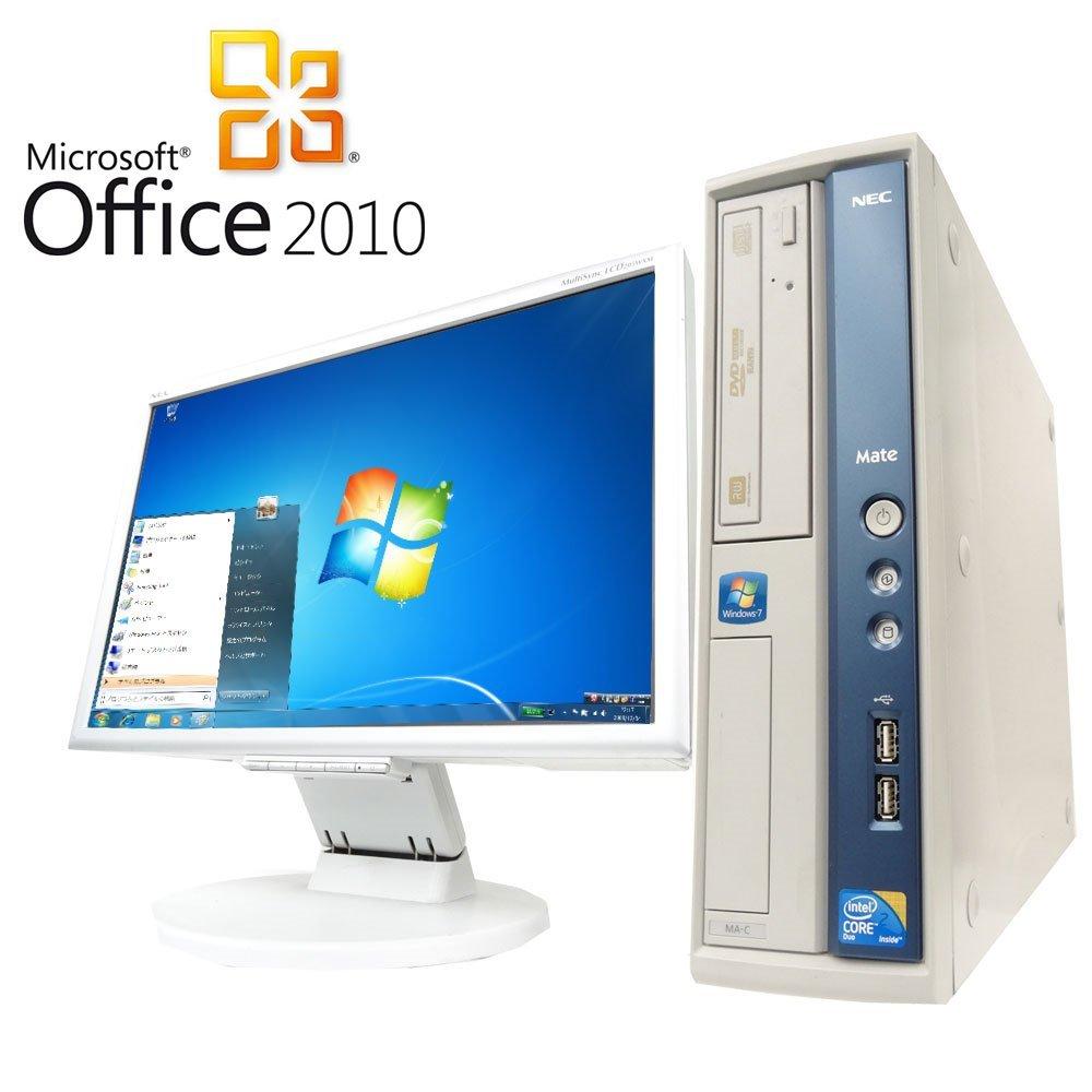 輝い 【Microsoft Office2010搭載】【Win 7搭載 2】 MA-A/新世代Core【超大画面24インチ液晶セット】NEC Duo MA-A/新世代Core 2 Duo 2.93GHz/メモリ4GB/HDD1TB/DVDスーパーマルチ/中古デスクトップパソコン B01FESUW2I, Ozオズ:b14eb498 --- arbimovel.dominiotemporario.com