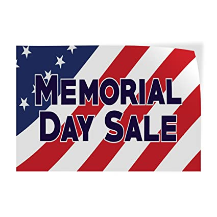 photograph about Closed for Memorial Day Printable Sign identified as : Decal Sticker Several Measurements Memorial Working day Sale