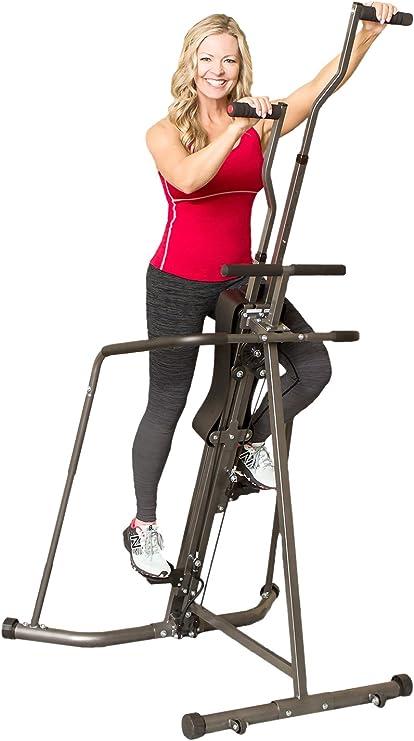 Body Champ Leisa Hart Cardio Vertical Stepper Climber/Includes ...
