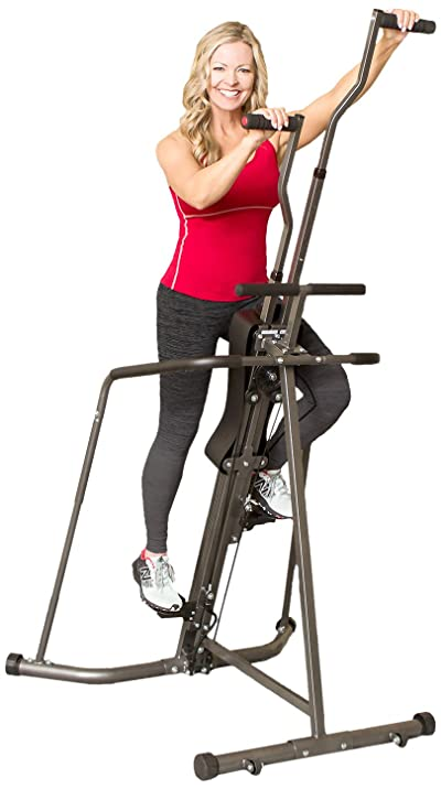 Body Champ Leisa Hart Cardio Vertical Stepper Climber / Includes Assembly Video