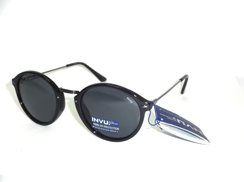 Gafas de sol polarizadas INVU B 2639 a negro polarizadas 100% UV ...