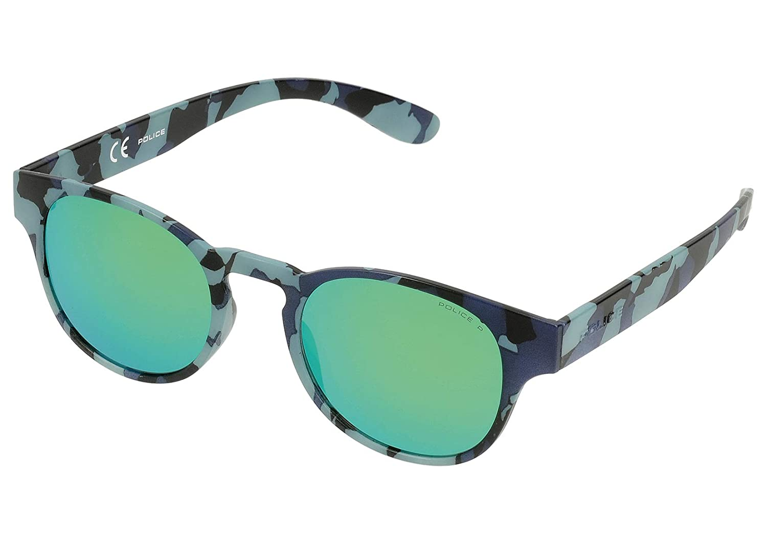 Police Exchange 2 Gafas de sol, SEMI MATT BLUE & BLACK ...