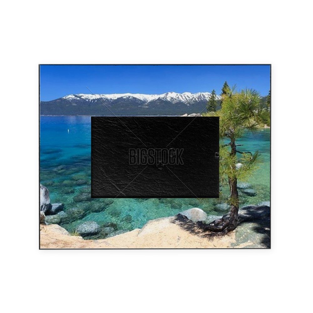CafePress - Lake Tahoe - Decorative 8x10 Picture Frame