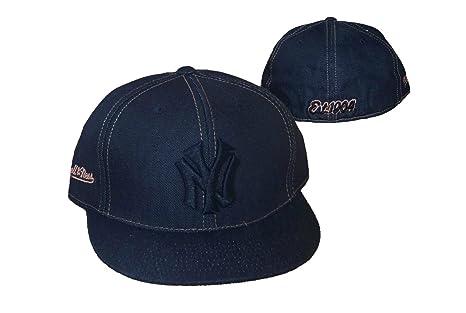 de8418c5 Amazon.com : New York Yankees 1904 Fitted Size 7 5/8 Hat Cap - Black ...
