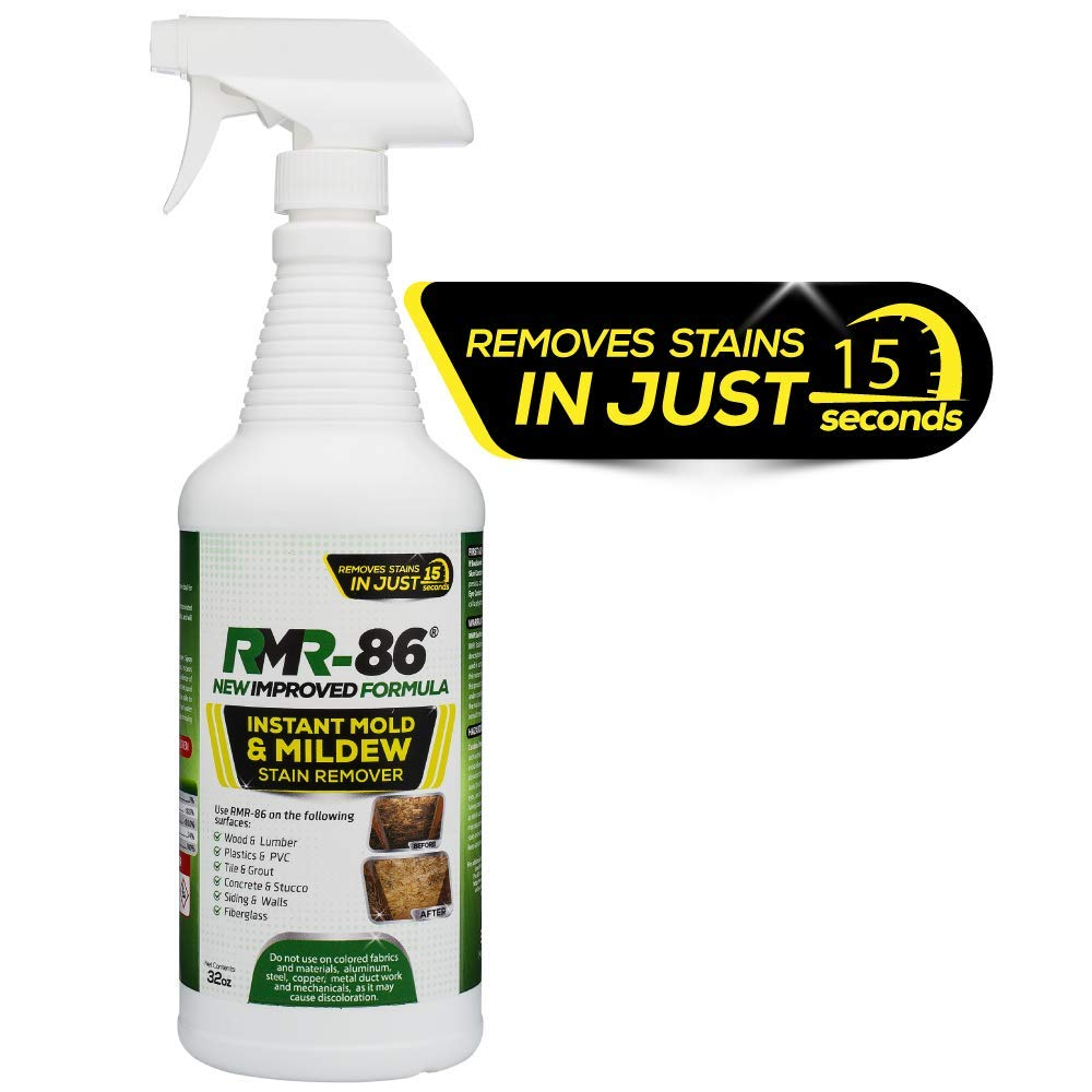 Rmr 86 Instant Mold Stain Mildew Stain Remover 32 Oz W