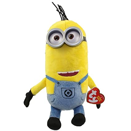 Amazon.com  TY Beanie Baby - TIM (Denim Overalls) (Despicable Me 3 ... bd30141e623