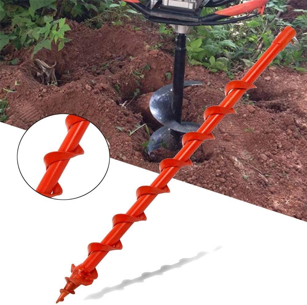 Drill Bits Drill Set Auger Drill Drill Hole Digger Drill for Earth Auger 800mmX60mm Drill Tool LLLNHQ