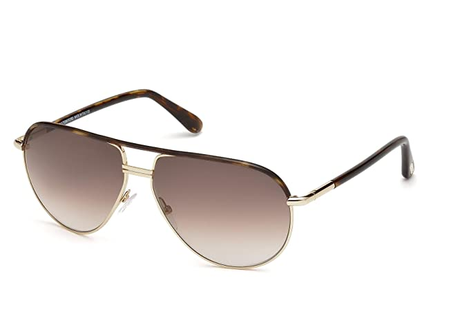 Amazon.com: Tom Ford Cole - Gafas de sol en color dorado ...