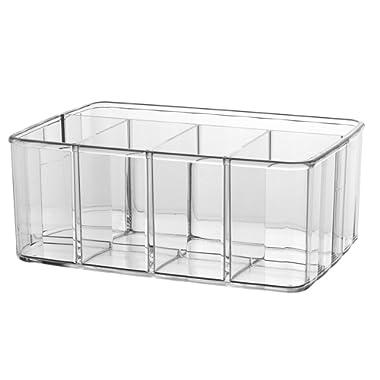 STORi Clear Plastic Organizer   5-Compartments
