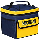 NCAA Michigan Wolverines All Star Bungie Cooler Sports Fan Home Decor, Blue, One Size