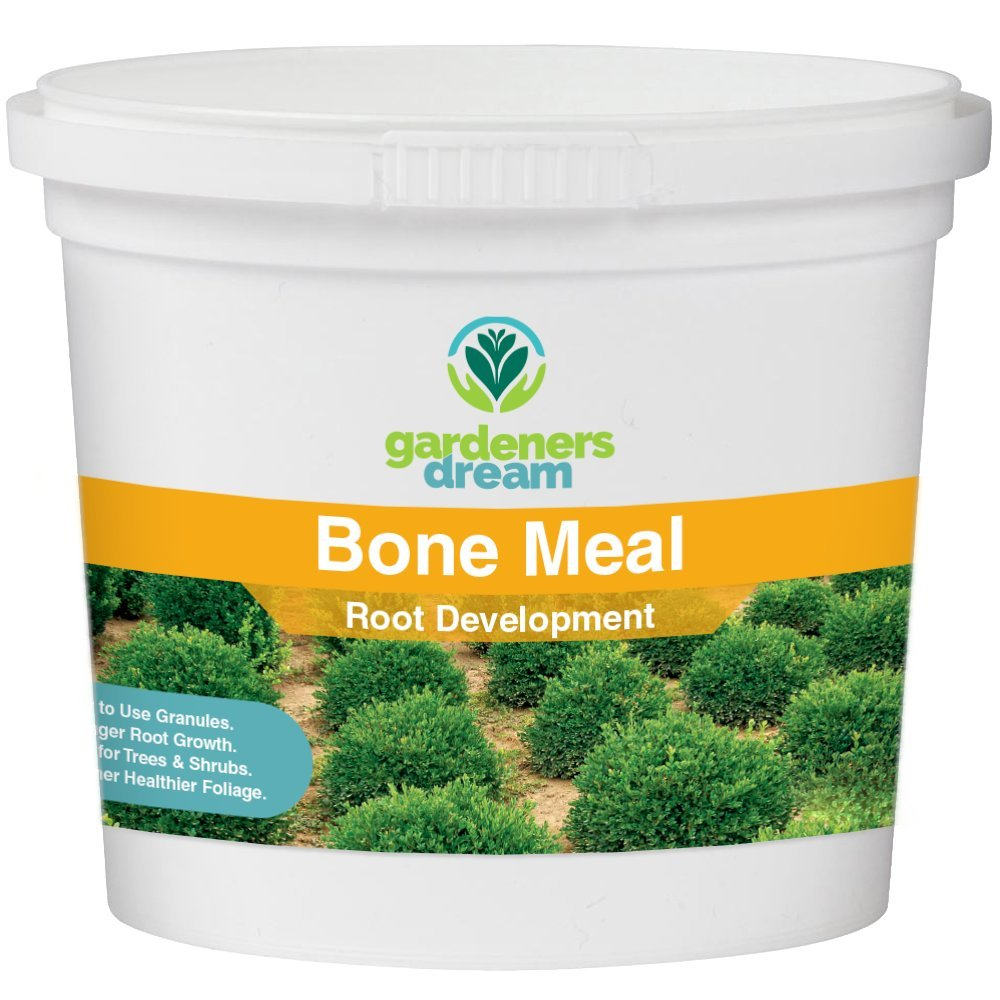 Gardenersdream - Bone Meal - Root Development Plant Food Garden Fertiliser Multi Purpose Organic Plant Dirt Mulch (1kg)